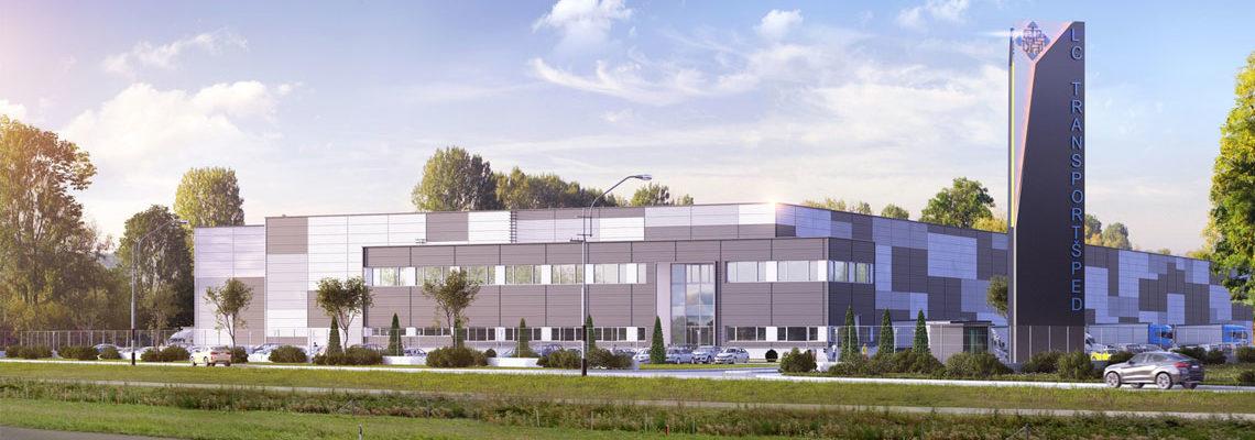 """Kapaciteti Novi, savremeni poslovno-skladišni objekat """"Logistički centar Transportšped"""" na lokaciji Autoput 315, Ugrinovci-opština Zemun, koji pokriva 1.000 m2 poslovnog i 20.000 m2 skladišnog prostora. Saznajte više"""